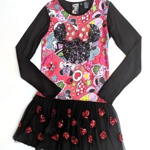 DESIGUAL Minnie Mouse Tee NWT Girls 9//10